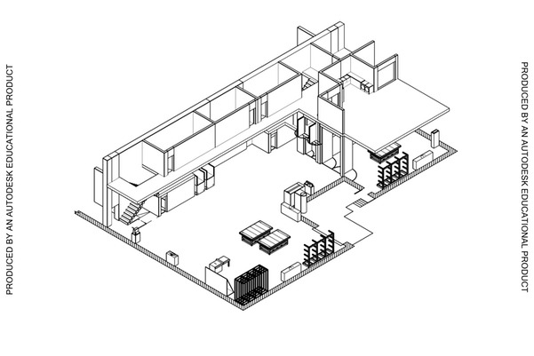 Shop Project: Isometric View